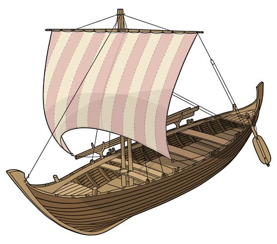 Rekonstrukcija na temelju rezultata hidroarheoloških istraživanja kod Nina, III–II.st.pr.Kr.