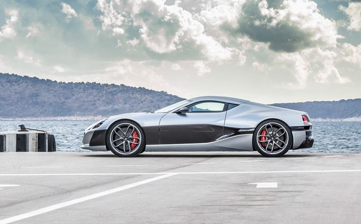 Električni automobil <em>Concept One,</em> proizveden u poduzeću Rimac Automobili, 2011.