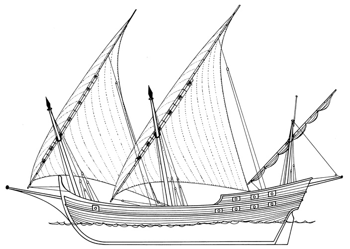 Veća bokeljska tartana, XVII–XVIII.st.