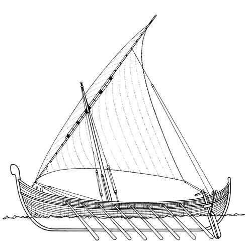 Veća starohrvatska kondura, IX–XI.st.