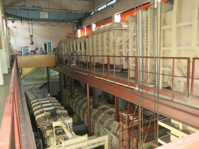 Kavitacijski tunel u Brodarskom institutu u Zagrebu