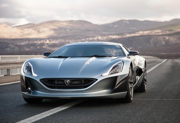 Električni automobil <em>Concept One,</em> proizveden u poduzeću Rimac Automobili iz Svete Nedelje, 2011.