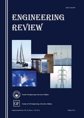 Naslovnica međunarodnoga znanstvenog časopisa <em>Engineering Review,</em> 2012., Tehnički i Građevinski fakultet, Rijeka
