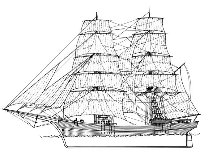 Istočnojadranski brik, XIX.st.