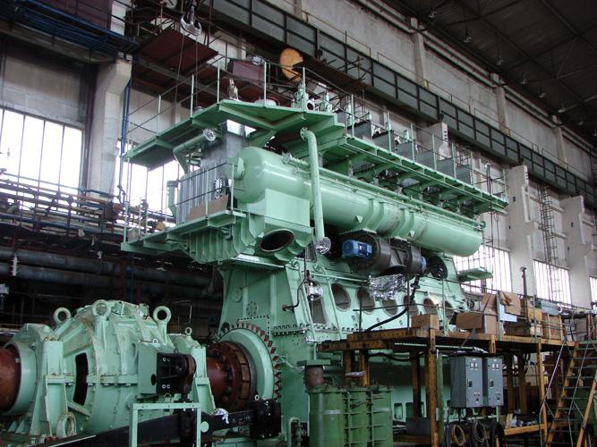 Dvotaktni sporokretni dizel motor prema licenci MAN B&W, Tvornica dizel motora, Brodosplit