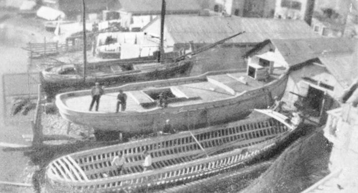 Brodogradilište obitelji Foretić na Boraku, Korčula