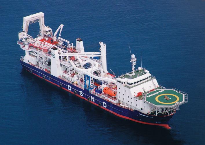 Brod za polaganje cjevovoda <em>Kommandor 3000,</em> Brodogradilište Viktor Lenac, preinačen 1999.