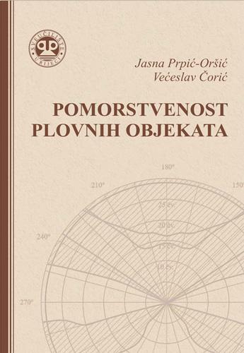 Naslovnica udžbenika <em>Pomorstvenost plovnih objekata</em> autora J. Prpić-Oršić i V. Čorića, 2006., Rijeka