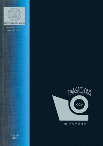 Naslovnica znanstveno-stručnog časopisa <em>Transactions of FAMENA,</em> 2000., Fakultet strojarstva i brodogradnje, Zagreb