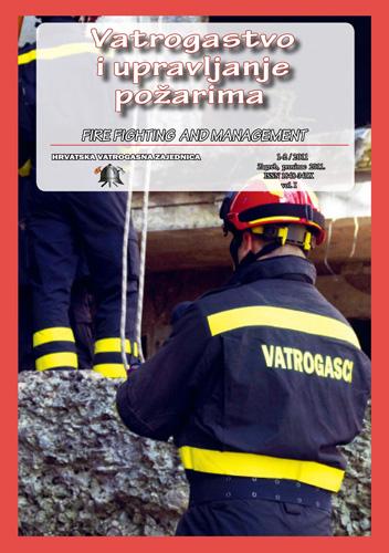 Naslovnica prvoga broja znanstveno-stručnog časopisa <em>Vatrogastvo i upravljanje požarima,</em> 2011., Hrvatska vatrogasna zajednica, Zagreb