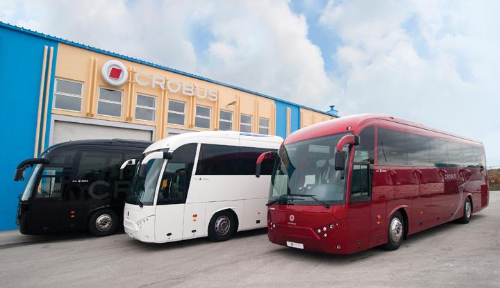 Autobusi <em>Zora,</em> proizvedeni u sesvetskom poduzeću AZ Crobus (dio Zubak Grupe), 2010.