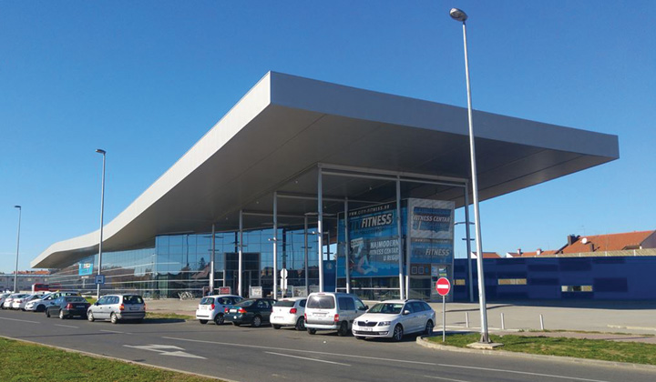Zgrada autobusnoga kolodvora u Osijeku