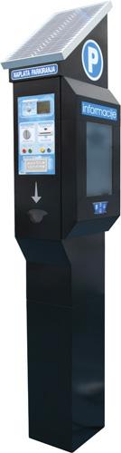 Info transakcijski terminal <em>ITT-1,</em> uređaj za prodaju karata, naplatu putem gotovine i elektroničkih kartica te informiranje na javnim mjestima, izrađen u poduzeću Echo iz Strizivojne, 2006.