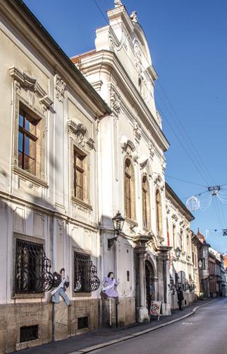 Palača Vojković-Oršić-Kulmer-Rauch u Zagrebu, gdje je smješten Hrvatski povijesni muzej