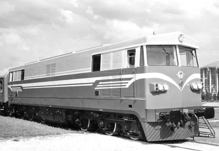 Dizelska električna lokomotiva serije <em>662,</em> proizvedena u tvornici Đuro Đaković 1966.