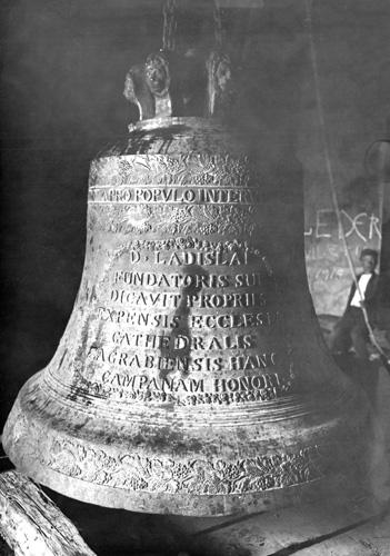 Zvono sv. Ladislava preliveno iz staroga zvona, 1837. izradio Henrik Degen