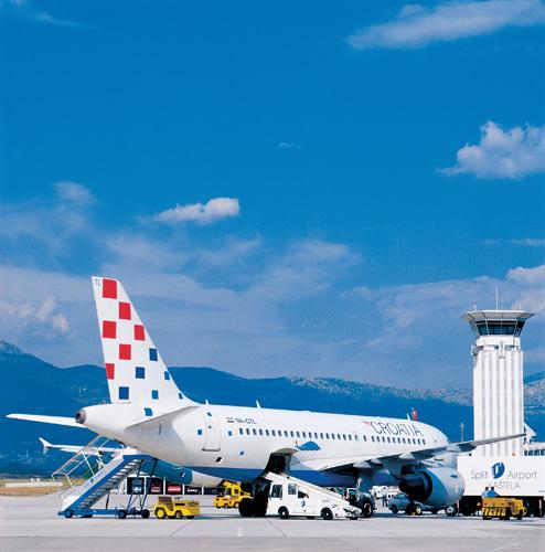 Zrakoplov Airbus A319-100 Croatia Airlinesa