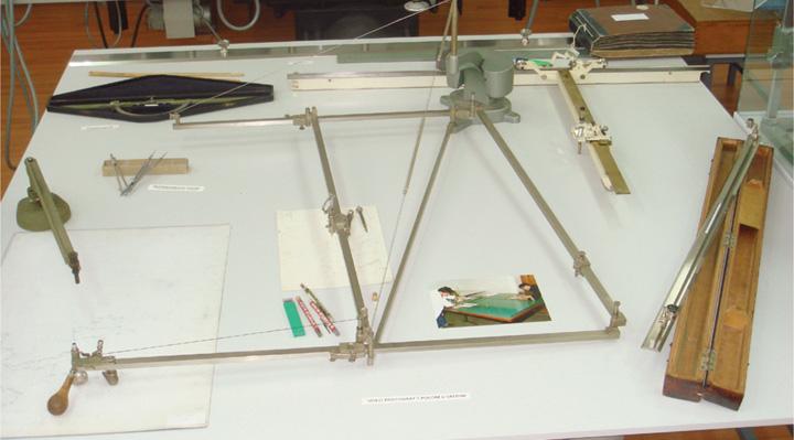 Izradba karata na osnovi hidrografskog izvornika s pomoću pantografa, Muzej hidrografije