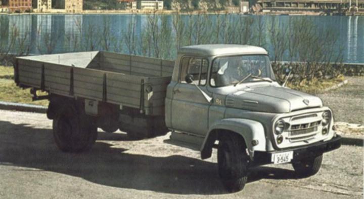 Kamion <em>Torpedo SRT-L,</em> sklopljen u tvornici Torpedo 1960-ih