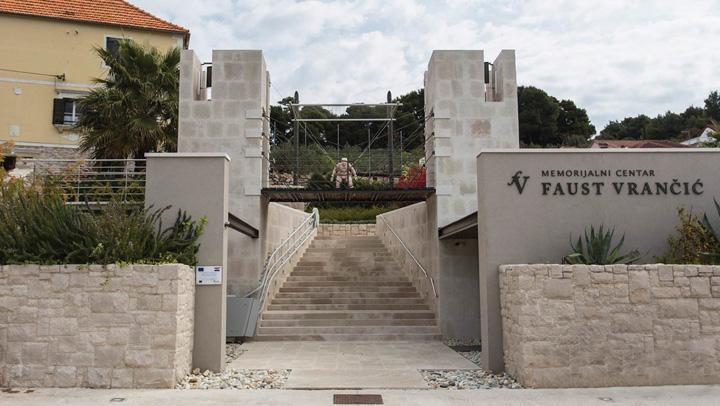 Ulaz u Memorijalni centar Faust Vrančić