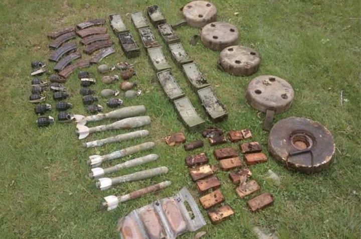 Minsko-eksplozivna sredstva zaostala nakon Domovinskoga rata