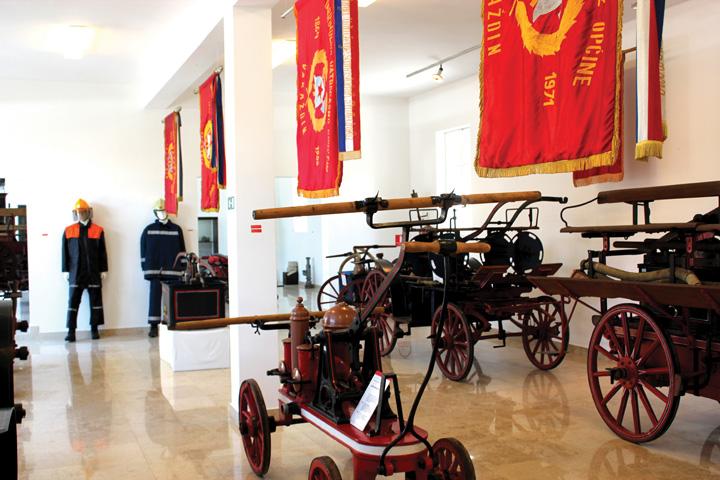 Postav Muzeja hrvatskog vatrogastva