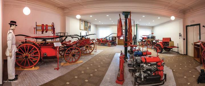 Postav Muzeja karlovačkog vatrogastva 1871
