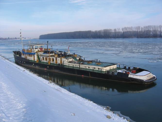 Tegljač <em>Sisak</em> poduzeća Hrvatsko riječno brodarstvo Dunavski Lloyd – Sisak