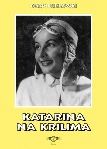 Boris Puhlovski, naslovnica knjige <em>Katarina na krilima,</em> 2000.