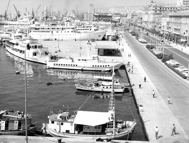 Riječka luka 1960-ih