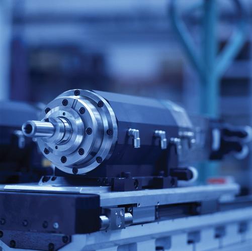 Visokobrzinsko motorno vreteno s linearnim motorom poduzeća HSTEC za obradbu honanjem