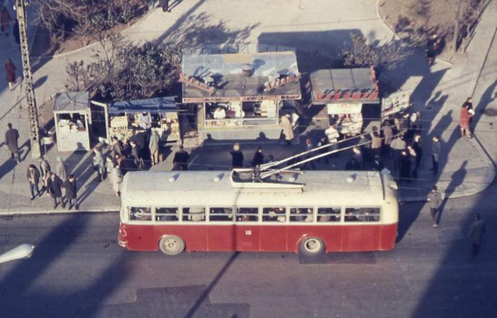 Trolejbus poduzeća Autotrolej, Rijeka, 1960-ih