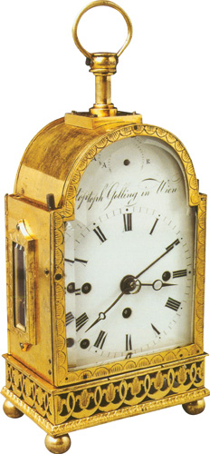 Putni sat, Beč, oko 1820., Muzej za umjetnost i obrt, Zagreb