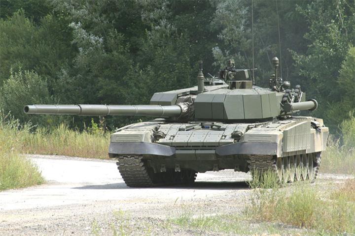 Prototip tenka <em>M-95 Degman,</em> proizveden u tvornici Đuro Đaković Specijalna vozila 2000-ih