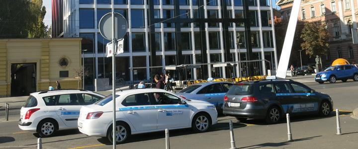 Taksi stajalište u Zagrebu