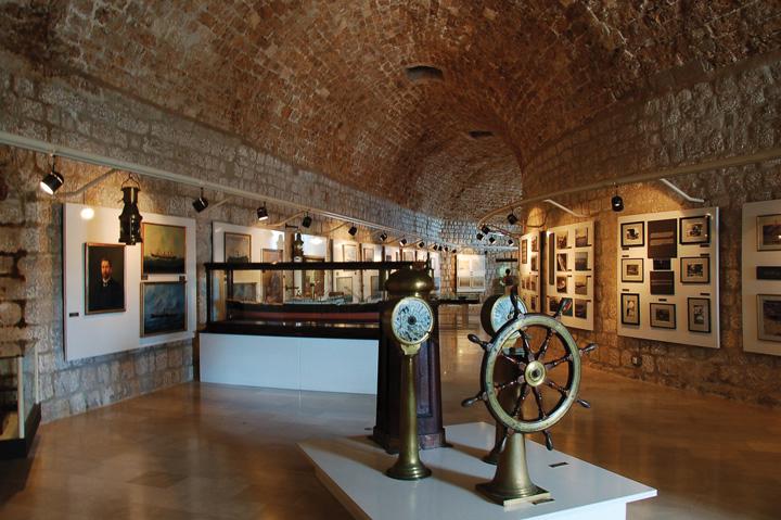 Postav Pomorskog muzeja u Dubrovniku
