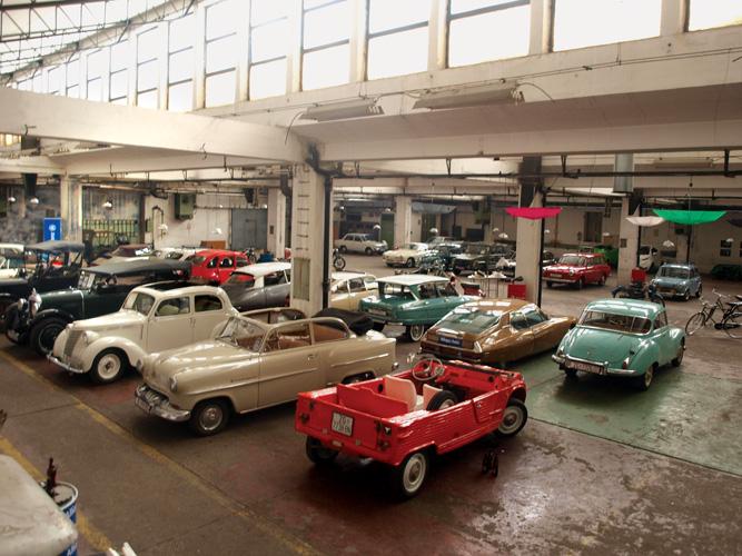 Postav Muzeja automobila Ferdinand Budicki