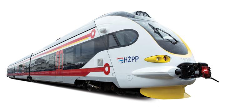 Motorni vlak serije <em>7023,</em> izgrađen u tvornici Končar – Električna vozila, 2016.