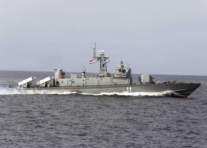 Raketna topovnjača <em>Kralj Petar KrešimirIV.,</em> izgrađena u Brodogradilištu Kraljevica 1992., MORH