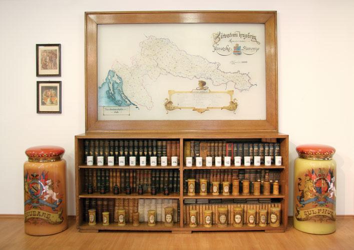 Muzejski eksponati, Odsjek za povijest medicinskih znanosti HAZU-a