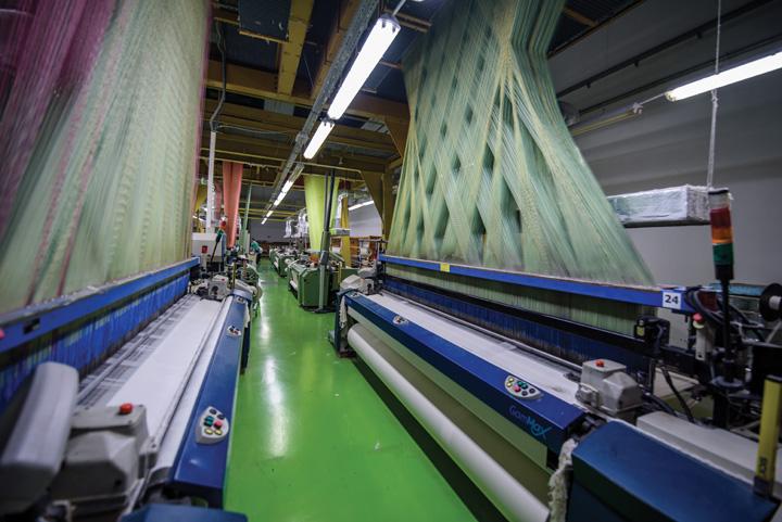 Žakardni tkalački stroj, Tvornica tekstila Trgovišće, 2018.