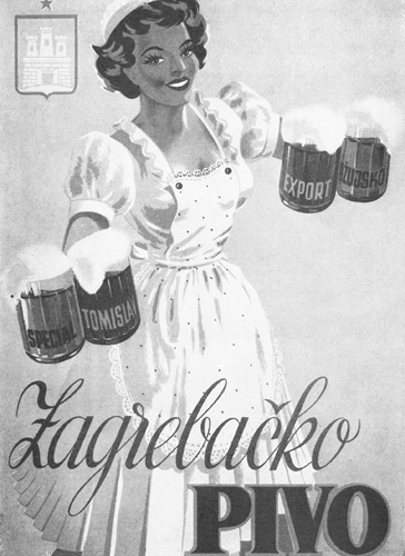 Reklamni plakat, sredina XX.st.