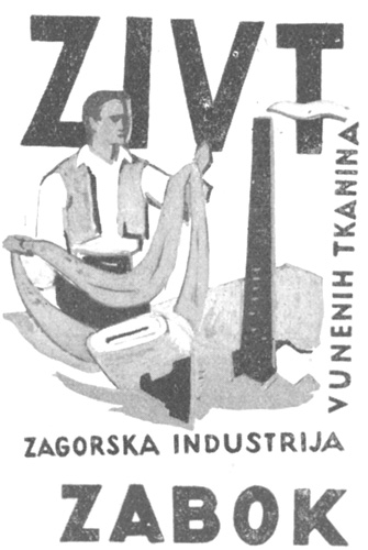 Reklamni materijal, sredina XX.st.
