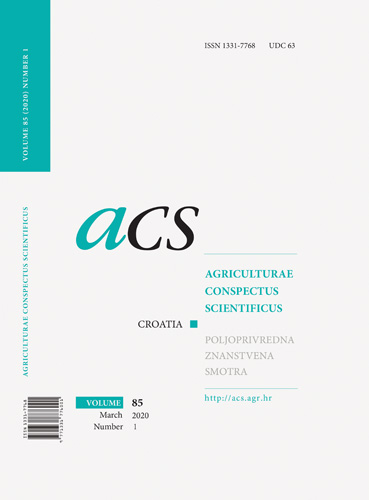 Naslovnica znanstvenoga časopisa