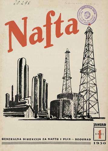 Naslovnica prvoga broja znanstveno-stručnoga časopisa, 1950.
