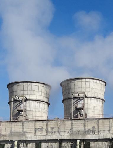 Rashladni tornjevi procesne vode, postrojenje Vode 1 poduzeća Petrokemija