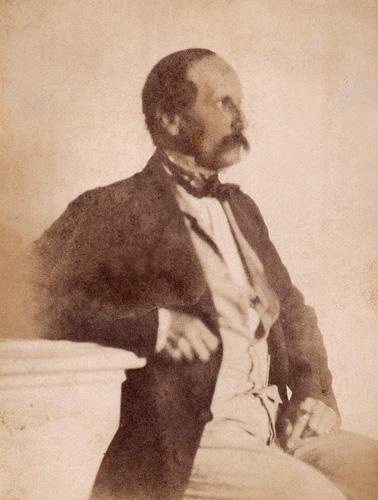<em>Autoportret,</em> kalotipija, oko 1850., Muzej za umjetnost i obrt, Zagreb