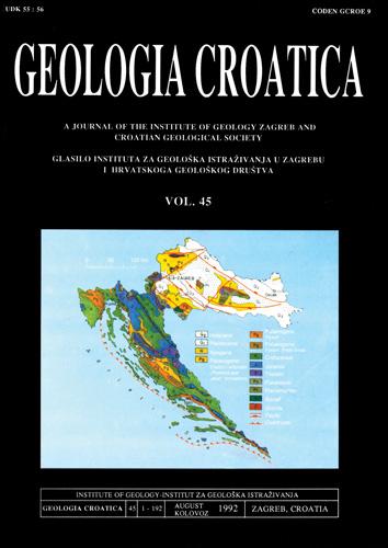 Naslovnica znanstvenoga časopisa,1992.