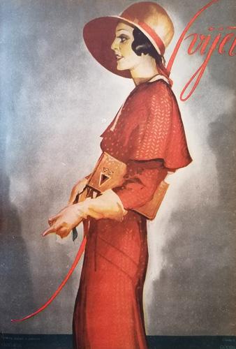 Naslovnica časopisa <em>Svijet,</em> 1930.