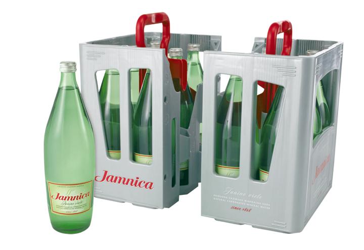 <em>Jamnica</em> boca i <em>split-box</em> nosiljka; proizvođači ambalaže: Kaplast, Vetropack Straža, H.O.N.-ing, Kerschoffset, Grafocolor, Znanje; dizajn: Ronald Bartikowski, Tea Kličinović; CROPAK 2007.